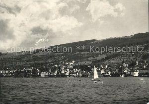 Rorschach Bodensee am Bodensee mit Blick auf Landegg / Rorschach /Bz. Rorschach