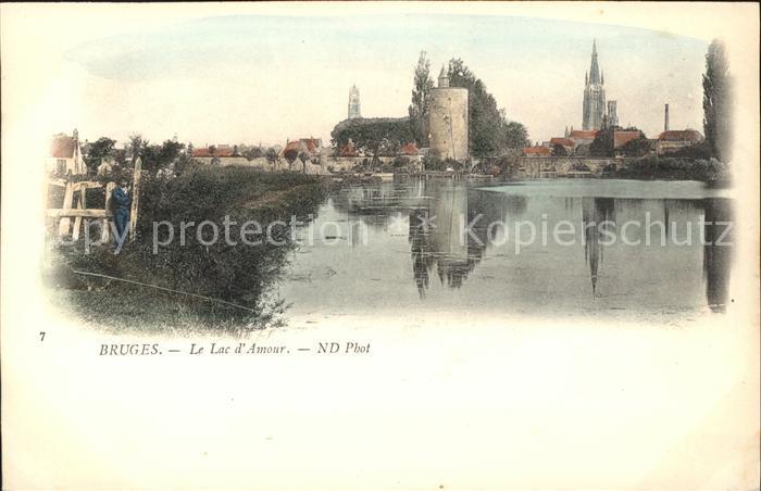 Bruges Flandre Lac d Amour Kat.