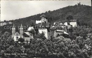 Aarburg AG Kirche und Festung Kat. Aarburg