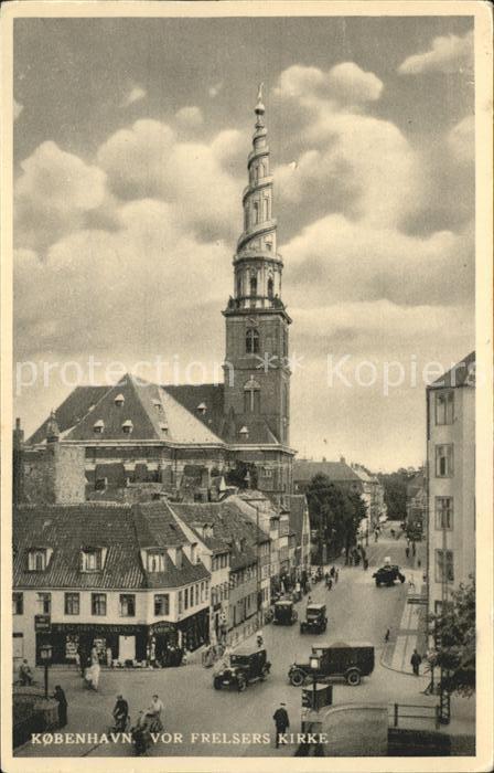 Kobenhavn Frelsers Kirke Kirche des Erloesers Kat. Kopenhagen