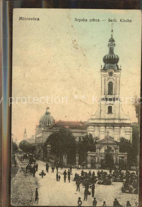 Mitrovica Serbische Kirche Kat. Mitrovice