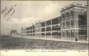 Berck-Plage Hopital Maritime / Berck /Arrond. de Montreuil