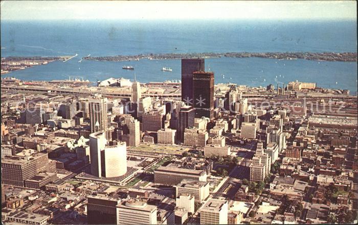 Toronto Canada Aerial view of Downtown Toronto Bay Harbour Kat. Ontario