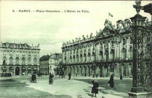 Nancy Lothringen Place Stanislas Hotel de Ville / Nancy /Arrond. de Nancy