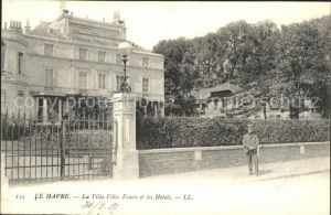Le Havre Villa Felix Faure et les Hotels Kat. Le Havre