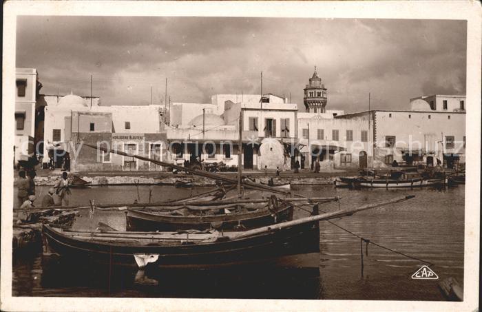 Bizerte Quartier du Vieux Port Kat. Tunesien