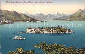 Lago Maggiore Isola Bella Isola Madre e Pallanza Kat. Italien