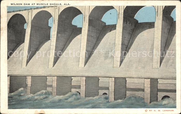 Wilson Dam Staumauer