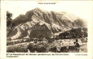 Transvaal Suedafrika Mission Suisse Romande Kat.