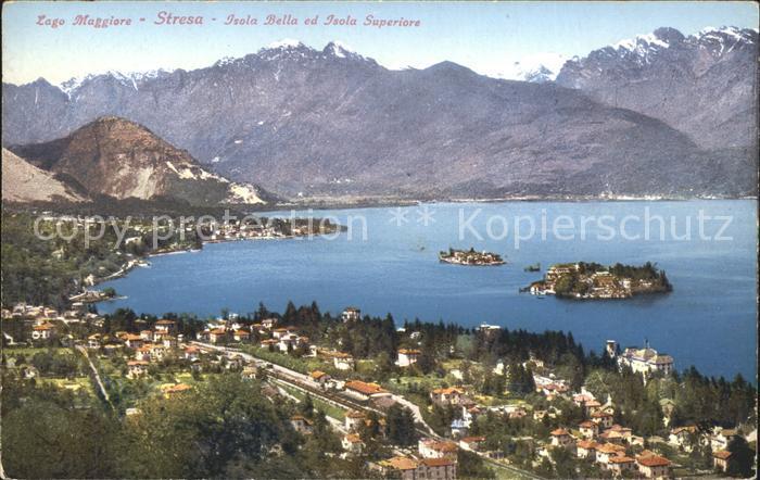 Lago Maggiore Stresa Isola Bella Isola Superiore  Kat. Italien