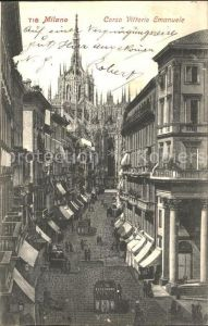 Milano Corso Vittorio Emanuele  Kat. Italien