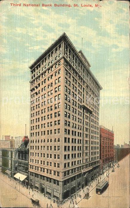 Saint Louis Missouri National Bank Building Kat. United States