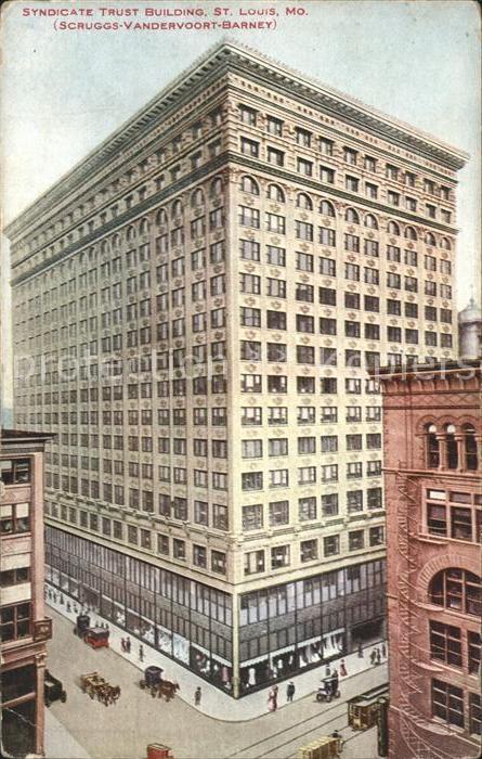 Saint Louis Missouri Syndicate Trust Building Kat. United States