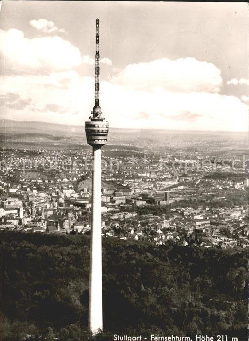 Stuttgart Fernsehturm Kat. Stuttgart