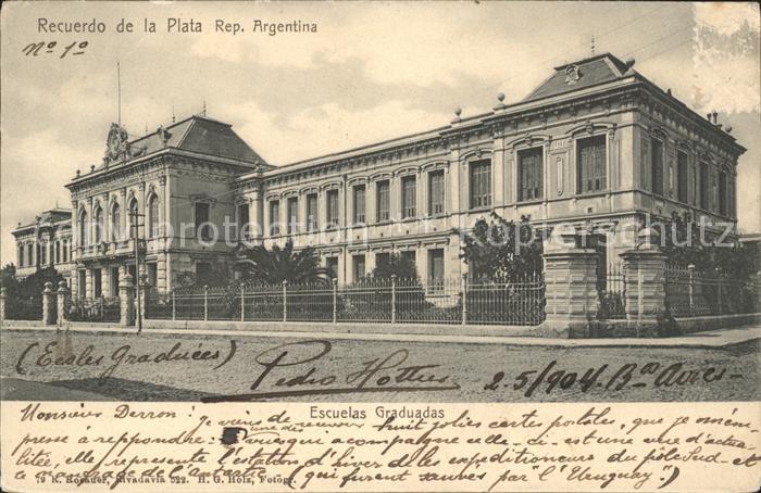 Argentinien Plata Escuelas Graduadas Kat. Argentinien