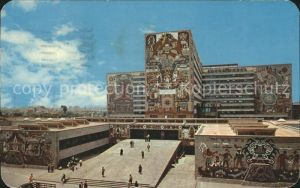 Mexico Murals in natural stone adorn the Communications Public Works Building Kat. Mexiko