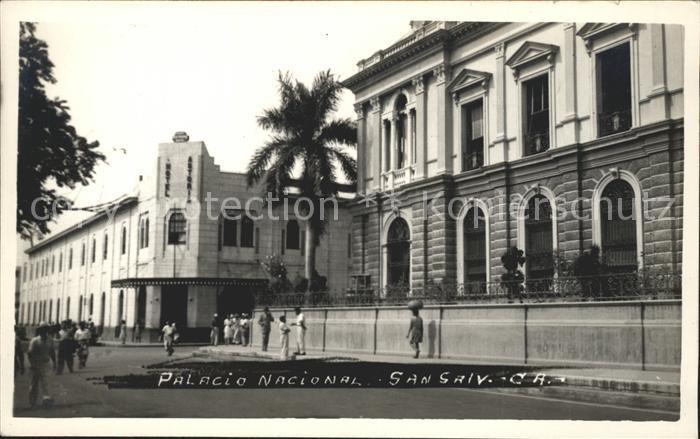 San Salvador Palacio Nacional Kat. San Salvador
