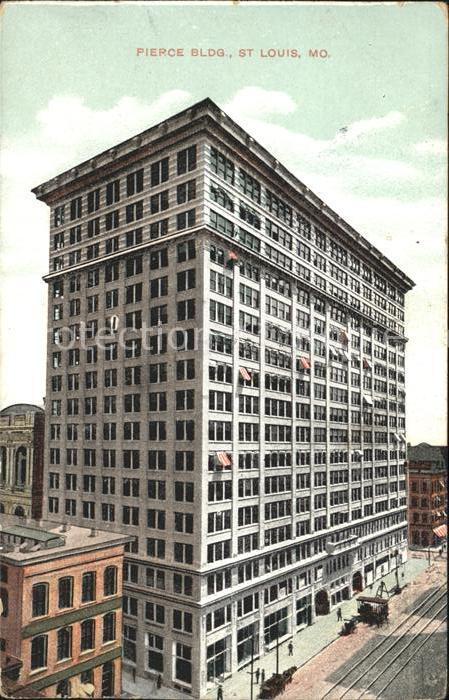 St Louis Missouri Pierce Building Kat.
