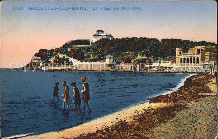 Sablettes les Bains Plage de Mar Vivo Cote d Azur