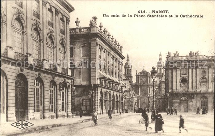 Nancy Lothringen Place Stanislas et Cathedrale / Nancy /Arrond. de Nancy