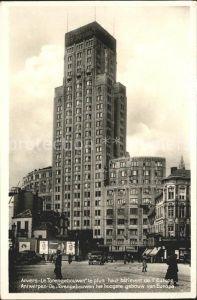 Anvers Antwerpen Le Torengebouwen le plus haut batiment de l Europe  Kat.