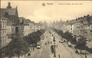 Anvers Antwerpen Avenue de Keyser Tram Kat.