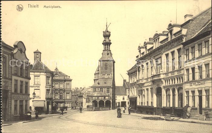 Thielt Marktplaats Marktplatz Kat.