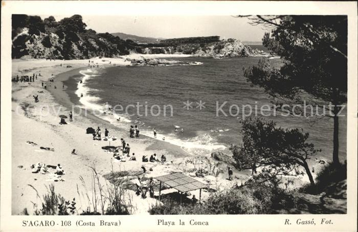 S Agaro Playa la Conca Kat. Costa Brava Spanien