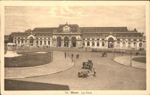 Mons La Gare Bahnhof Kat.