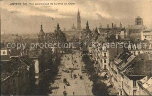 Anvers Antwerpen Avenue de Keyser Eglise Kat.