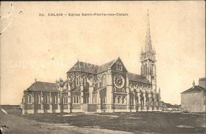 Calais Eglise Saint Pierre les Calais Kat. Calais