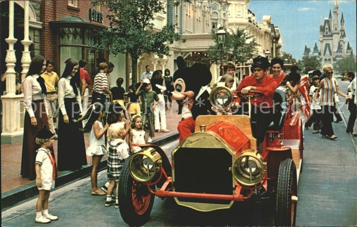 Disney World Mickey Mouse Fire Engine  Kat. Lake Buena Vista