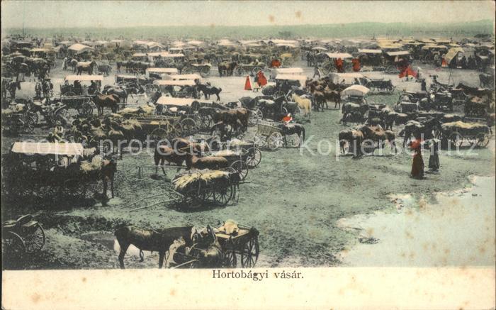 Ungarn Hortobagyi vasar Kat. Ungarn