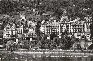 Territet Montreux Grand Hotel et Hotel des Alpes / Montreux /Bz. Vevey