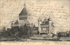 Vufflens Chateau de Vufflens / Vufflens-le-Chateau /Bz. Morges