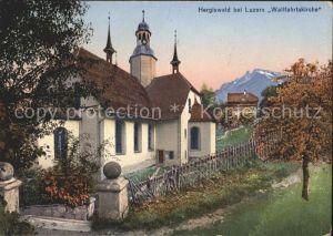 Hergiswald Wallfahrtskirche / Kriens /Bz. Luzern