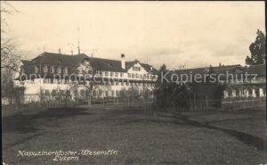 Luzern LU Kapuzinerkloster Wesemlin / Luzern /Bz. Luzern City