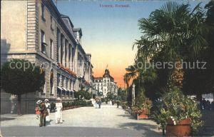 Luzern LU Kursaal Seepromenade / Luzern /Bz. Luzern City
