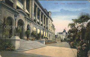Luzern LU Kursaal mit Palace-Hotel / Luzern /Bz. Luzern City