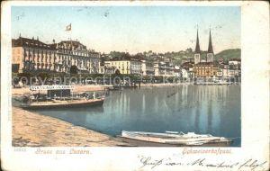 Luzern LU Schweizerhofquai / Luzern /Bz. Luzern City
