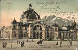 Luzern LU Bahnhof Pilatus / Luzern /Bz. Luzern City
