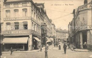 Charleroi Hainaut Wallonie Rue Neuve /  /