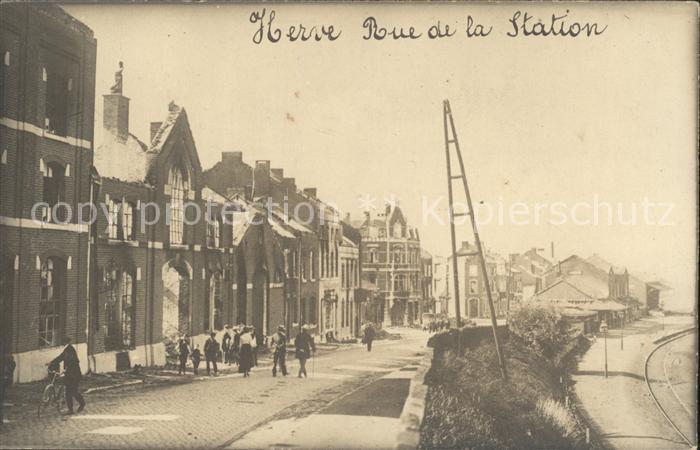 Herve Rue de la Station /  /