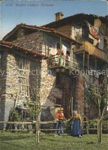 Tessin Ticino Motivo rustico Ticinese Kat. Lugano