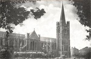 Dublin Ireland St Patricks Cathedral / United Kingdom /
