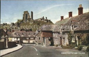 Corfe Dorset Castle and Village Kat. Purbeck