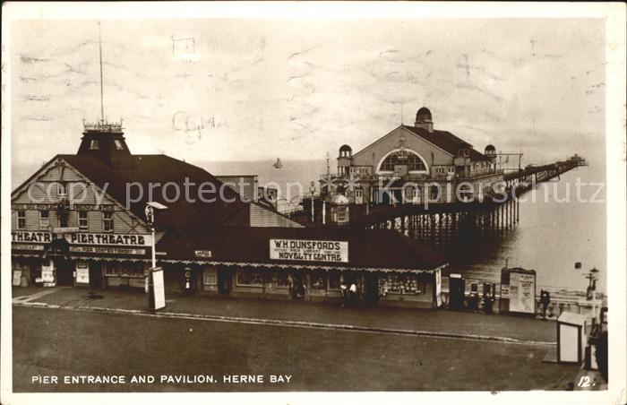 Herne Bay Pier Entrance and Pavilion / City of Canterbury /