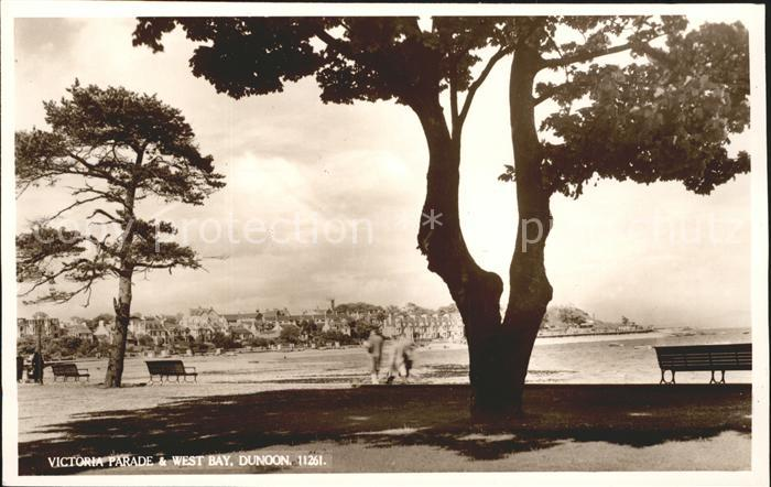 Dunoon Victoria Parade and West Bay Kat. Argyll