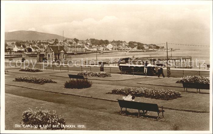 Dunoon The Gardens and East Bay Kat. Argyll