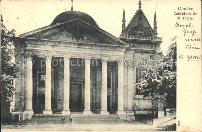 Geneve GE Cathedrale de St Pierre Kat. Geneve
